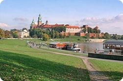 Krakow - River Vistula