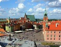 Plac Zamkowy, Warszawa / Castle Square, Warsaw By Chcę krzyczeć