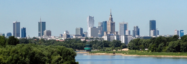 Warszawa panorama by Filip Bramorski - Warsaw Travel Guide