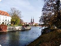 Wrocław River Odra