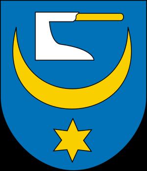 Żabno Coat of Arms - Żabno Travel Guide